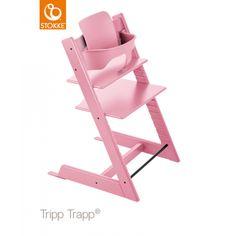 Gelukkig is 'ie er weer de roze Stokke Tripp Trapp Kinderstoel! Mooi in Soft Pink...