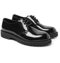 137762481da Saint Laurent - Liverpool Patent-Leather Derby Shoes. Zapatos De  HombresZapatos ...