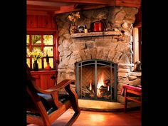 The decorative temperature of the house: Fireplaces in Fireplaces are not only giving warmth to the space they are in, but also important elements of decoration. Every place with a fireplace can become a. Fireplace Stores, Home Fireplace, Gas Fireplaces, Fall Home Decor, Autumn Home, West Salem, Fireplace Inserts, Home Decor Inspiration, Hearth