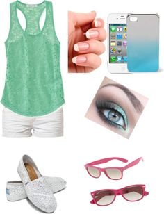 """Stroll on the Beach"" by purplepirate-1 on Polyvore"