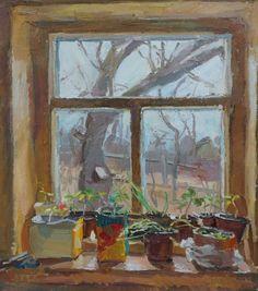 """Anastasia Dukhanina, Young Garden, 2014 """