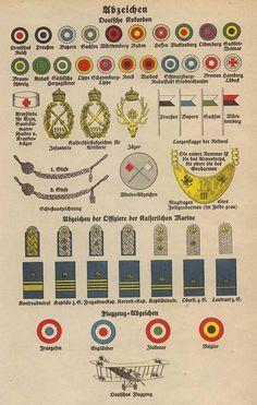 German Uniforms Plate III by *julius1880 on deviantART World War I Uniform components.