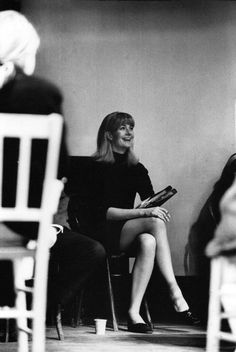 Vanessa Redgrave during the rehearsal of the play ThePrime of Miss Jean Brodie, 1966
