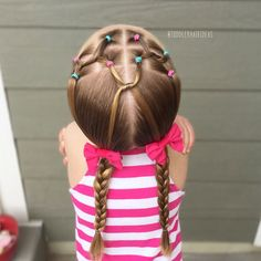 "Toddler Hair Ideas (@toddlerhairideas) on Instagram: ""It's been a while since I've done a full elastic style, I think I'm out of practice because this…"""