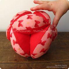 Tutoriel Balle de préhension ❤ Alternative Montessori
