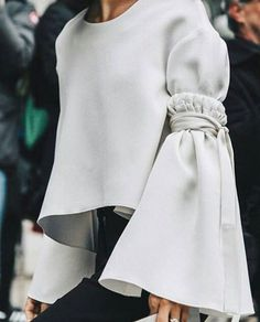 Bell sleeves delux #atpatelier #atpatelierweekends #sleeves #weekends