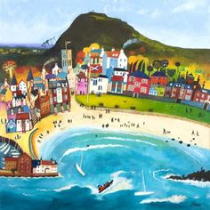 'Day Out, North Berwick' by Rob Hain... Next purchase!