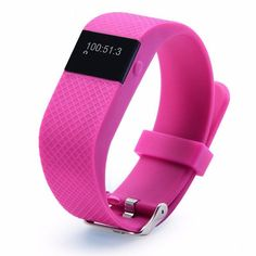 Firely? TW64S Heart Rate Monitor Bluetooth 4.0 For Bit Pedometer Smart Wrist Band Inteligente Bracelet for iOS&Android Red. TRACKS STEPS/DISTANCE/CALORIES BURNED. TRACKS SLEEPING PATERNS. CALLER ID/TEXT/DEVICE RECOVERY/SEDENTARY ALERTS. HEART RATE MONITOR. TIME/DATE.