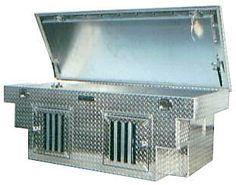 custom aluminum hunting dog box for your atv utv truck or trailer hangin tree cowdogs. Black Bedroom Furniture Sets. Home Design Ideas