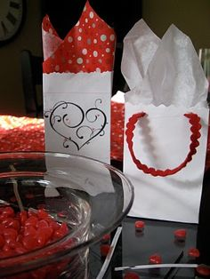 Homemade Valentine Gift Bags Made From Envelopes--so cute and easy! #homemadevalentines #valentines