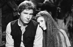 Han Solo & Princess Leia Organa Star Wars - Star Wars Princesses - Ideas of Star Wars Princesses - Han Solo & Princess Leia Organa Star Wars Chewbacca, Ewok, Dark Maul, Star Wars Cast, Leia Star Wars, Obi Wan, Sith, Jar Jar Binks, Tableau Star Wars