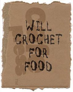 I do! crochet work <3