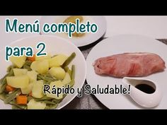 MENÚ COMPLETO SALUDABLE Y RÁPIDO EN MONSIEUR CUISINE, MAMBO Y THERMOMIX - YouTube Menu, Robot, Connection, Youtube, Dishes, Meals, Healthy, Earrings, Thermomix