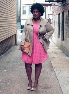 Trending: Eye-catching Eyelet  Janelle of Style. Scored this feminine eyelet lace dress at T.J.'s!