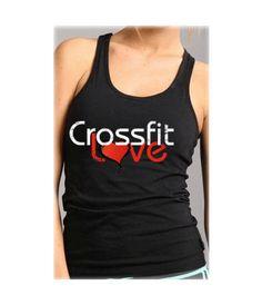 I love crossfit tank