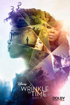Dolby Cinema poster for A Wrinkle in Time 2018 Movies, Hd Movies, Movies To Watch, Movie Tv, Film Watch, Movies Free, Movie Titles, Iconic Movies, Indie Movies