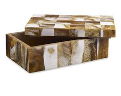 Decorative boxes made of wood, glass, or horn don't even register as storage, he points out, and can actually serve dual purposes. Decorative Objects, Decorative Boxes, Stationery Store, Box Houses, Altered Boxes, Glass Boxes, Thinking Outside The Box, Storage Spaces, Storage Organization