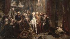 Jan Matejko - The Fall of Poland (1866).