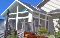 Like this but with siding or rock base and different, larger skylights more like glass roof panels.