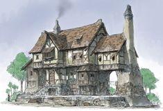 european middle ages house - Hledat Googlem