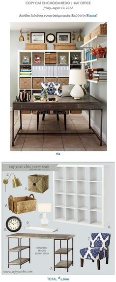 1000 images about home office on pinterest home office for How to redo your room for cheap
