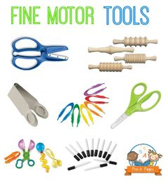 The Best Fine Motor Tools for Preschool and Kindergarten Repinned by  SOS Inc. Resources  http://pinterest.com/sostherapy.