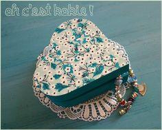 Boite à bijoux peinte façon mitsi