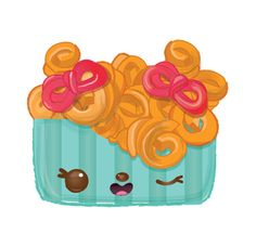 Frenchie Curls Character   Num Noms