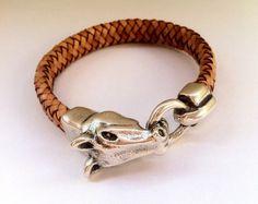 Armbänder - Armband Pferdekopf close - ein Designerstück von hituk bei DaWanda