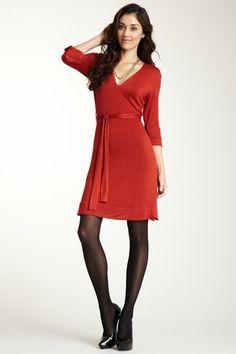 Slimming | 24/7 Comfort Faux Wrap Dress
