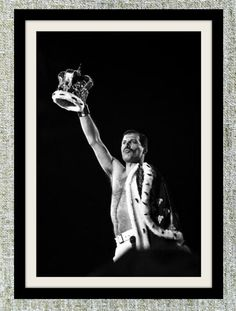 Freddie Mercury photograph, black and white photo print, vintage photograph, Queen photograph, rock music decor, gift for him