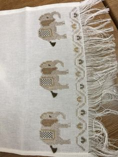 Cross Stitch Borders, Home Textile, Hand Embroidery, Textiles, Istanbul, Crafts, Herb, Crossstitch, Needlepoint