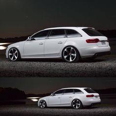 Clean Stance… Audi A4 (B8) Avant