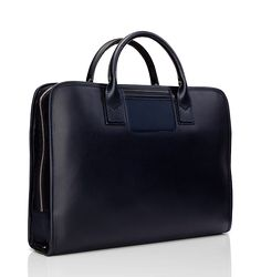 Italian made Leather & Nylon briefcase