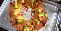 The Ultimate Egg, Bacon, Cheese and Avocado Brunch Ring