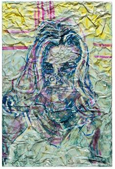 "Simon Raab ""Narcissist - You even liked the title"" 2008 www.parleau.com #simonraab #parleau #art #portrait #artist Narcissist, Portrait, Night, Wall, Artwork, Artist, Painting, Work Of Art, Men Portrait"