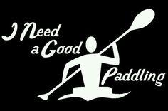 Paddleing