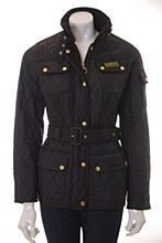 Barbour Womens Jacket Black 8 International Polar Fitted - Various Size Options...... NEEED NOW!!!!!!!!!!!!