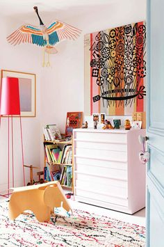 A colorful home in Paris - French By Design