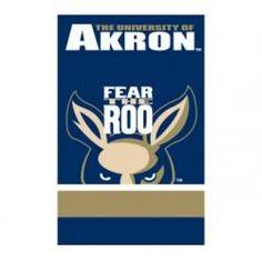 Akron Zips NCAA Applique Banner Flag