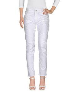 PIERRE BALMAIN Denim pants. #pierrebalmain #cloth #dress #top #skirt #pant #coat #jacket #jecket #beachwear #