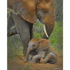 Bathtime with Mom