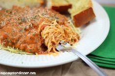Eat Cake For Dinner: Spaghetti a la Philly