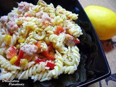 Salata cu paste si ton Pasta Salad, Cooking Recipes, Ethnic Recipes, Food, Salads, Crab Pasta Salad, Chef Recipes, Essen, Eten