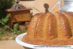 Bizcocho de avellanas (Sin gluten ni lactosa)