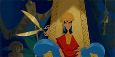 Proof That Kuzco Is The Realest Disney Prince There Ever Was - He gets stuff done.