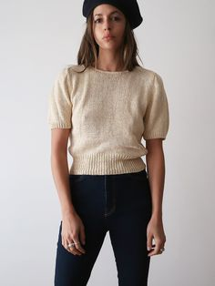Silk Knit Top