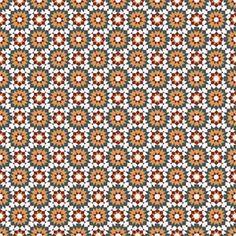 Zementfliesen von Articima: Zementfliese Nr. 405, orientalisches Muster