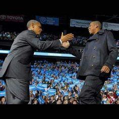 Obama & Jay Z
