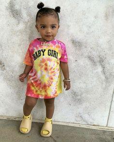 Cute Mixed Babies, Cute Black Babies, Beautiful Black Babies, Cute Babies, Cute Kids Fashion, Baby Girl Fashion, Toddler Fashion, Cute Little Girls Outfits, Toddler Girl Outfits